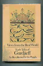 GURDJIEFF Views from the Real World 1973 1st Edition