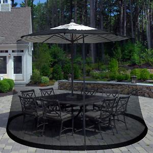 Umbrella Patio Garden Screen  Cover Mosquito Netting Table Garden