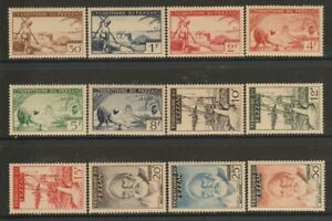 Fezzan, France Military Terr., MNH, MLH Stamps, Lot - 7