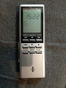 ITZ-500 Funk-Timer Zeitschaltuhr Fernbedienung für Intertechno Funk-Schalter