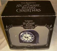 Disney Tim Burton's Nightmare Before Christmas Jack Skellington Wood Table Clock