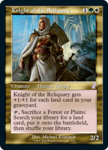 Knight of the Reliquary x1 Magic the Gathering 1x Time Spiral Remastered mtg