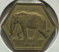 Katanga PCGS MS-65 1961 GOLD 5 Francs KM-2a Rare fmr Belgian Congo