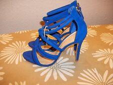 Schutz Damen Schuhe/Sandalen  NEU Royalblau, Wildleder