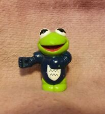 Vintage Muppet Babies Baby KERMIT Knight Figure Toy Piece for CASTLE Playset