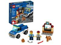 Lego City 60241 Great Vehicles Police Dog Unit Building Kit NEW IN BOX!!!!!