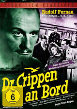 Dr. Crippen an Bord Rudolf FERNAU pauil Dahlke Krimi Película De Culto DVD NUEVO