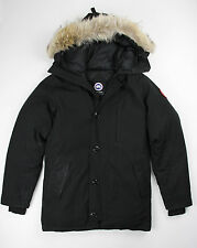 CANADA GOOSE Mens Authentic Black CHATEAU PARKA Down Coat S Small $995