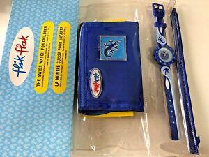 FLIK FLAK  - ZFTS001  LITTLE BLUE LIZARD + WALLET -  BRAND  NEW !  VERY RARE !!