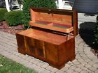 MidCentury Waterfall Cedar Hope Chest LOCK HAS BEEN REMOVED'FREE'Greyhound Ship