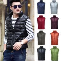 Mens Packable Jacket 90% Duck Goose Down Coat Puffer Quilted Lightweight Outwear