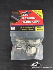Lead Fixing Clip | Hall Clip | Lead Flashing | Pack Qty Approx 50 | Roof Fixings