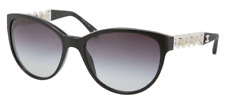 * CHANEL *   -  Leather Butterfly Chain Cat Eye 5215Q 5013C - womens sunglasses