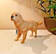 Golden Retriever Standing Dog Figurine Ornament Canine Gift Leonardo Collection