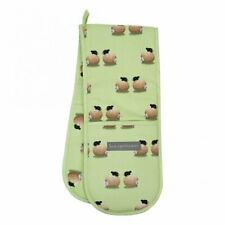 Double Oven Gloves - Sheep / Daisy - Country Style Gift - Lucy Pittaway