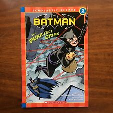 DC Comics Batman Level 3 Scholastic Reader Book Catwoman New AS IS