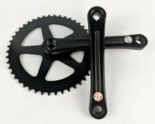 Black Schwinn Fixed Gear Crankset 170mm 46T Chainring