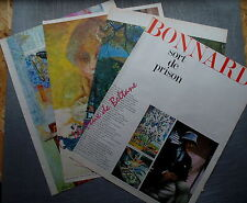 DOCUMENT PHOTO BONNARD EXPOSITION LOUVRE   1967 clipping