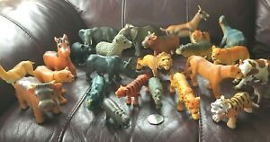 Joblot of mainly Zoo, And Farm Toy Animals nice sizes