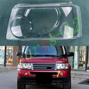 Left Side Headlight Cover Clear PC + Glue For Range Rover Sport 2005-2009