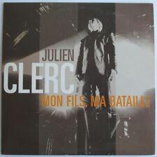 "JULIEN CLERC - CD SINGLE PROMO ""MON FILS, MA BATAILLE"""