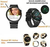 Huawei Watch GT 2,W1 Active,W1 Elite Sports Smart Watch,GPS,AMOLED,Bluetooth UK