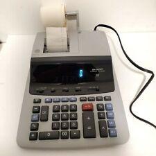 Sharp Compet Vx-2652H 12 Digit 2 Color Heavy Duty Printing Work Desk Calculator