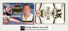 2006 Select NRL Invincible League Leaders CC12 C. Fitzgibbon + Rooster Predictor