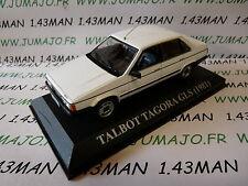"voiture 1/43 altaya IXO ""voitures d'antan SIMCA TALBOT Tagora GLS 1981 (Espagne)"