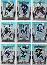 2007/08 McDONALDS MASTER SET: BASE,CHECKLIST,PRIDE, SEASON, CREASE, SPOTLIGHT