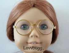 Gold Wire Frame Eye glasses for 18 inch Doll  Accessory Specialist American Girl