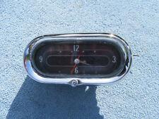 1958 Cadillac Vintage Dash CLOCK Geo. W. Borg OEM GM