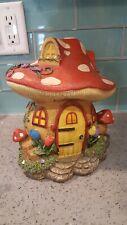 New listing Mushroom Cottage for Miniature Fairy Garden