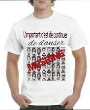 Tee-shirts 100% coton Mesrine L'important c'est de continuer de danser