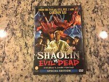 Shaolin Vs. Evil Dead Special Edition Like New Dvd 2004 Kung Fu Vampires Horror!