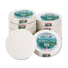 "9"" White Round Paper Plates, Lightweight (1,000 ct.) Party Dinnerware Tableware"
