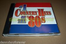 #1 Number One Country Hits of The 80s Time Life CD 10 songs Made in USA in 2002