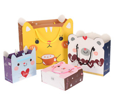 Cute Animal Gift Bags Kawaii Japanese Cat & Bear Designs Large Present Paper Bag