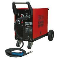 Sealey MIGHTYMIG210 Professional Gas/No-Gas MIG Welder 210A With Euro Torch