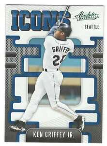 KEN GRIFFEY JR. 2021 Panini Absolute Icons Green #3 NM-MT+ Mariners  ID:17033