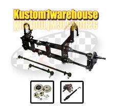 4 inch narrowed VW link king pin front end beam w/drop disc brakes 5x130 porsche