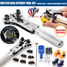 Watch Repair Kit Tool Back Case Opener Cover Screw Wrench Remover Watchmaker US