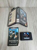 Batman Returns (Sega Genesis, 1992) CIB - Cleaned/Tested