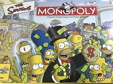 Parker Brothers The Simpsons Monopoly Board Game 2001