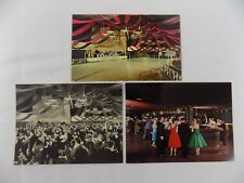 RoseLand Ballroom NYC New York City Vintage Post Cards Set of 3 Mint Condition