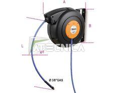 Carrete de la Manguera Automático 16 MT beta 1901/10 1901 T/10 Para Aire Y Agua