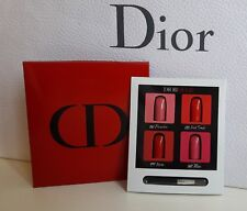 Dior Rouge #IFEELGOOD 4 Colors LipStick Card w mini Lip Brush
