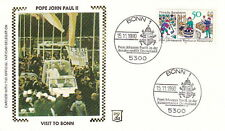 1980 POPE JOHN PAUL II BONN GERMANY VISIT POSTAL COVER