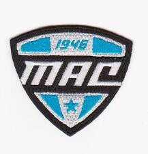 BUFFALO BULLS MAC FOOTBALL JERSEY TEAM LOGO PATCH MID AMERICAN CONFERENCE