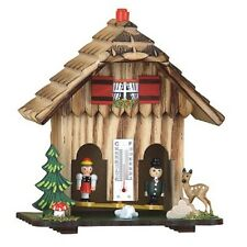 Black Forest Wood Weather House Chalet Quality New